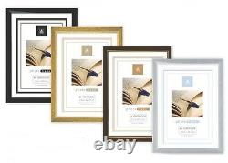 12 X A4 Certificate Photo Picture Desk Frames Wall Mountable Free Standing Frame