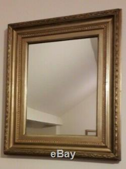 A Pair Of Beautiful Antique Gilded Frame wall Mirrors Free Shipping UK
