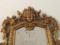 Antique Bronze Beveled Wall Mirror