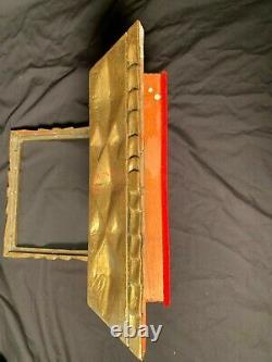 Antique Carved Italian Gold Gilt Frame ShadowithRelic Box Wall Shelf Florentine