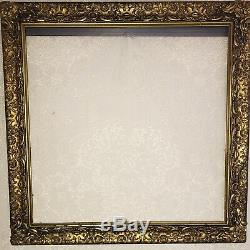 Antique Large 24x24 Picture Wall Frame Gold Ornate