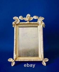 Art Nouveau Gilded Bronze Photo Standing Wall Hanging Frame