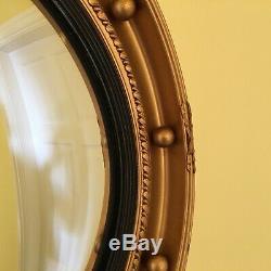 Astonea convex wall mirror mounded plaster Frame retro / chic