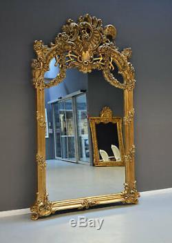 Baroque Mirror 240cm Wall XXL Goldspiegel Magnificent Frame Antique