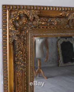 Baroque Mirror Gold Wall Mirror Magnificent Frame XXL Goldspiegel Antique