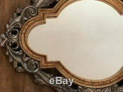 Bombay Company Mirror 28 x 42 Gold tone Moroccan framed wall Gilt 5591062