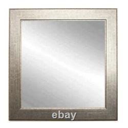 BrandtWorks Subway Silver Wall Mirror, 32 x 36 BM014M2