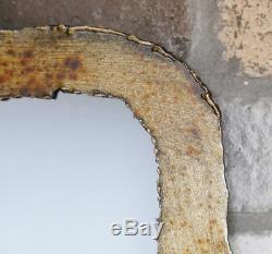 Burnt Gold Metal Frame Wall Mirror 180 x 68 cm NEW