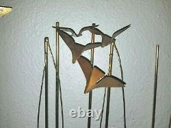 C. Jere Wall Sculpture Boats Seagulls Pennants lot's of Boats! Flags Dated 1979