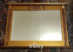 Classic Golden Painted Framed Wall Mirror