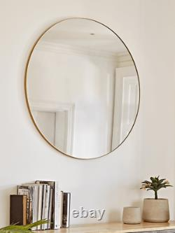 Cox & Cox Oversized Soft Gold Wall Hanging Frame Mirror RRP £350