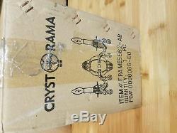 Crystorama 5562-AB-CL-SAQ Dawson Spectra Crystal Wall Sconce, Antique Brass