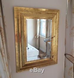 Deknudt shabby chic Belgian Wall Mirror 85cm X 108cm