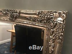 Extra Large Antique Gold shabby chic ornate Decorative over mantle Wall Mirror