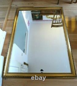 Extra Large Gilt Framed Mirror 53 x 41