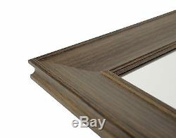 Extra Large, Lean To, Floor to Wall Framed Mirror 170cm x 109cm in 5 Colours
