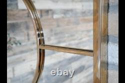 Extra Large Mirror Polished Gold Art Deco Metal Wall Hanging 120cm x 90 cm New