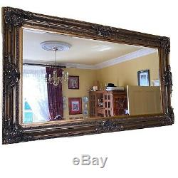Extra Large Vintage Gold Wall Mirror French Baroque style 2.25mx1.30m
