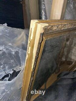Extra Large Wall Mirror in Gold Frame USED. More Images Added