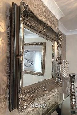 Fabulous Ornate Decoraitive Mirror Choice of Size & Frame Colour STUNNING