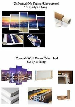 Gold Coast Canvas Print Painting Framed Home Wall Decor Art Poster Australia