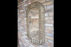 Gold Mirror Marrakesh Metal Wall Hanging Art Metallic Large Moroccan Decor Frame