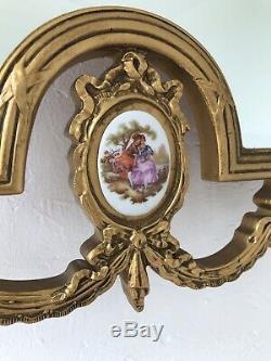 Gold Mirror Ornate Wall Mirror Portrait Mirror Vintage Mirror Ornate Frame