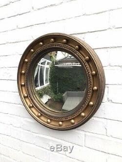 Gold Mirror Ornate Wall Mirror Round Mirror Vintage Mirror Distressed Frame
