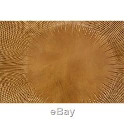 Gold Wood Carving Framed Wall Art