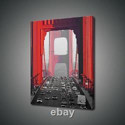 Golden Gate Bridge San Francisco Canvas Print Picture Wall Art Free Delivery