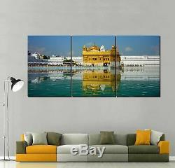 Golden Temple Amritsar Canvas Art Print for Wall Decor Painting