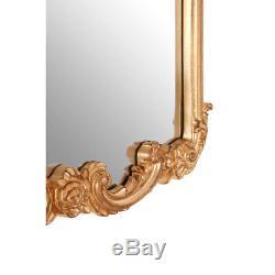 Grace Wall Mirror Polyurethane Frame Gold Retro Vintage Style