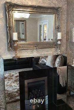 HUGE Decorative Silver Mirror SAVE ££'s Insured in transit