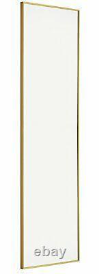 Habitat Kupari Gold Full Length Wall Mirror
