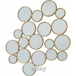 Home Decor Accent Jadyn Mirror Wall Hanging Gold Novelty Mirror
