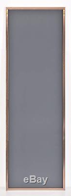 Home Selections Rose Gold Large Metal Framed Long Full Length Wall Mirror
