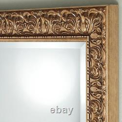 John Lewis Constantina Ornate Wall Mirror Gilt French Antique Gold 90x65cm Wood