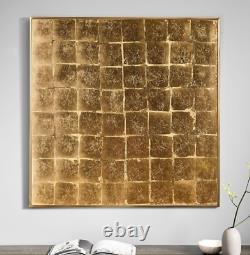 John Lewis & Partners Gilded Wall Art Gold RRP £299