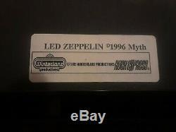 LED ZEPPELIN-24 kt Gold Plated 4 CD Framed Winterland Decor Wall Set-#713/2500