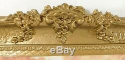 Large 36 Vintage Ornate Gold Syroco Angel CHERUB Putti Framed Wall Picture USA