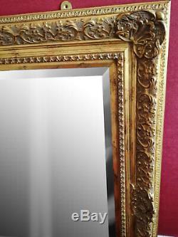 Large Mirror gold ornate Arqadia Frame Bevelled Edge wall Mirror SALE