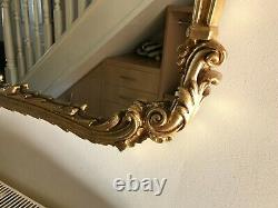 Large Ornate Gold Wall Mirror 53x44 approx