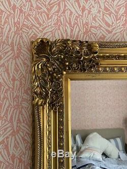 Large Wall Mirror Ornate Decorative Gold Frame Vintage Antique Mantle