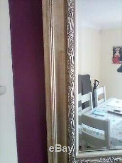 Large Wall Mirror with Gold Gilt Frame From John Lewis. 100cm x 125cm