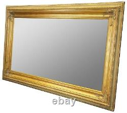 Monumental French Gold Wood Artwork or Mirror Frame Picture Floor Wall 88