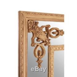 Opera Gold Motifs Frame Wall Mirror