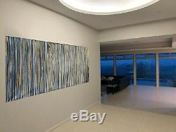 Original gold fields painting abstract modern art wall decor by Jane choose size