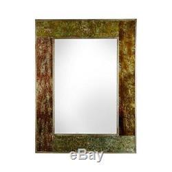 Premier Housewares Deco Wall Mirror Gold Effect