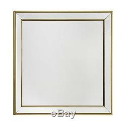 Premier Housewares Framed Wall Mirror Gold Gut Wandspiegel Mit Rahmen