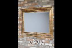 Retro Style Art Decor Gold Wall Mirror Home Decor Mirror 6424